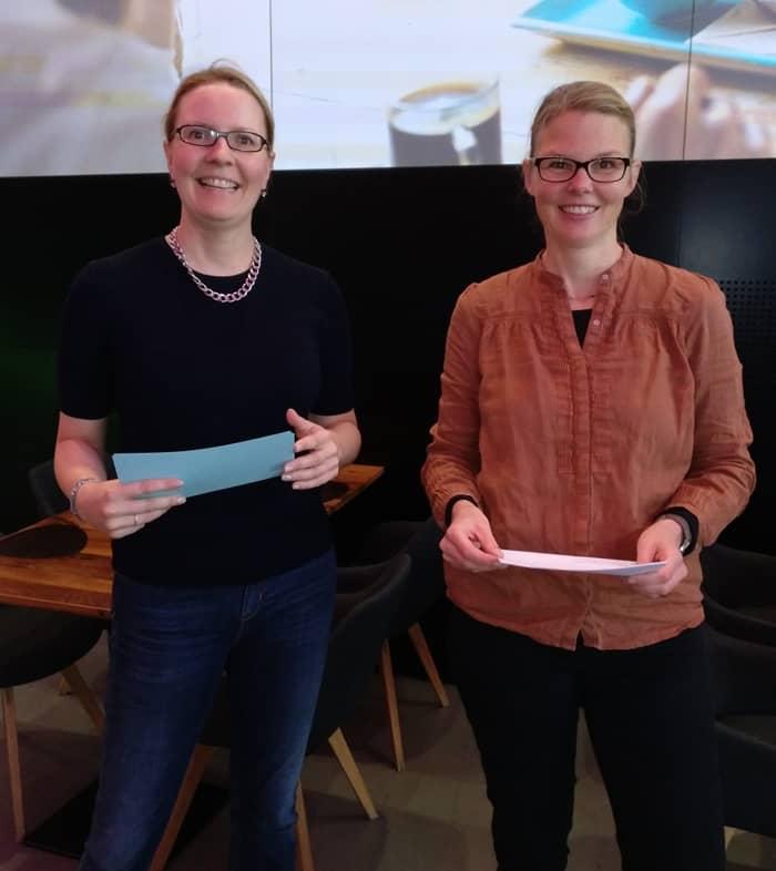 Simone Maader und Verena Voges